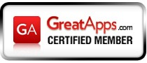 GreatApp Certified Logo
